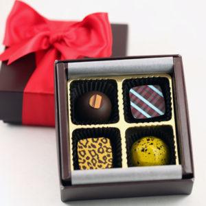4pc Gift Truffles