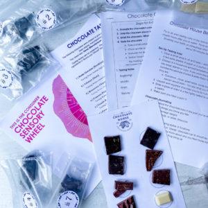 Blind Chocolate Tasting Kit