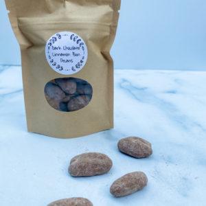 Dark Chocolate Cinnamon Bun Pecans