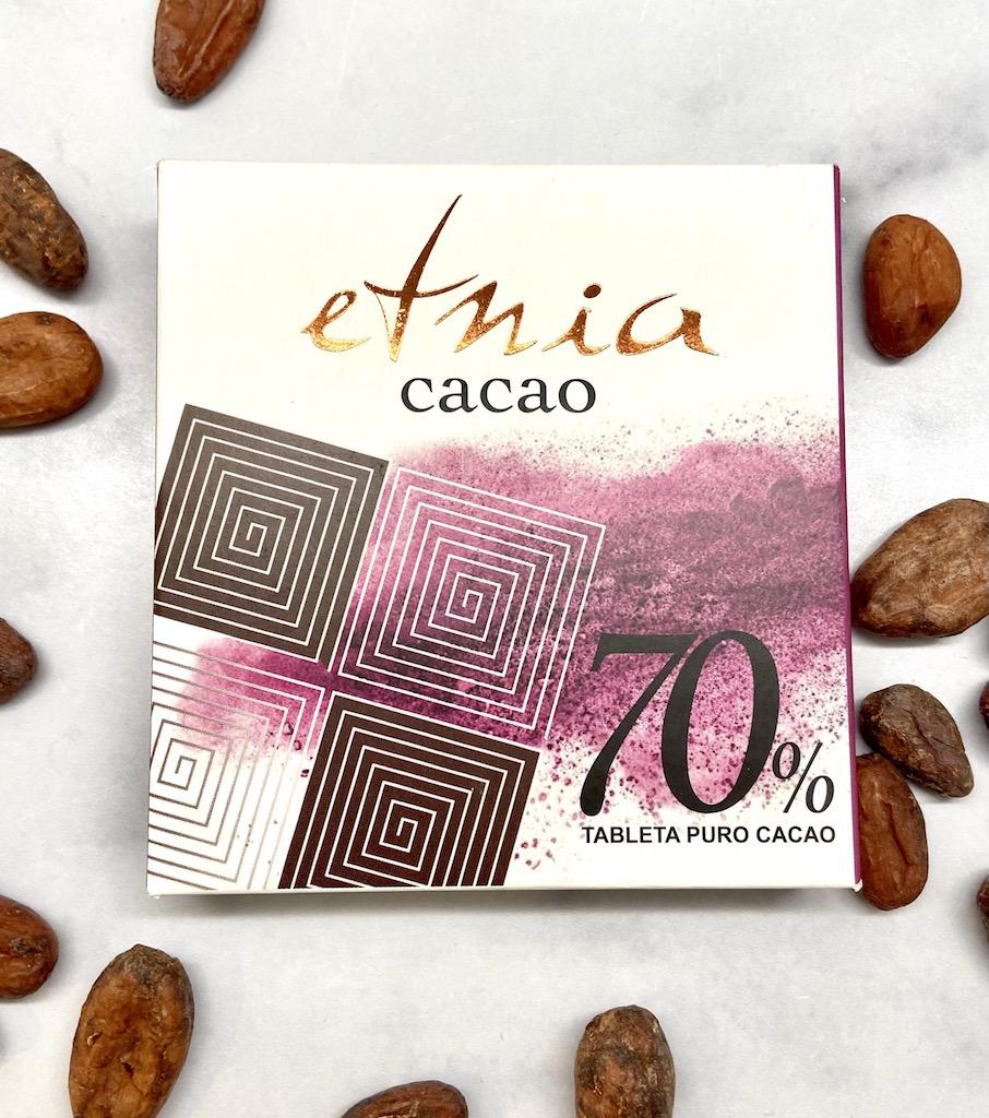 Etnia_Tableta Puro Cacao_70%