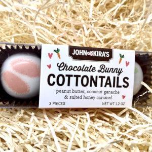 John & Kira_Chocolate Bunny Cottontails