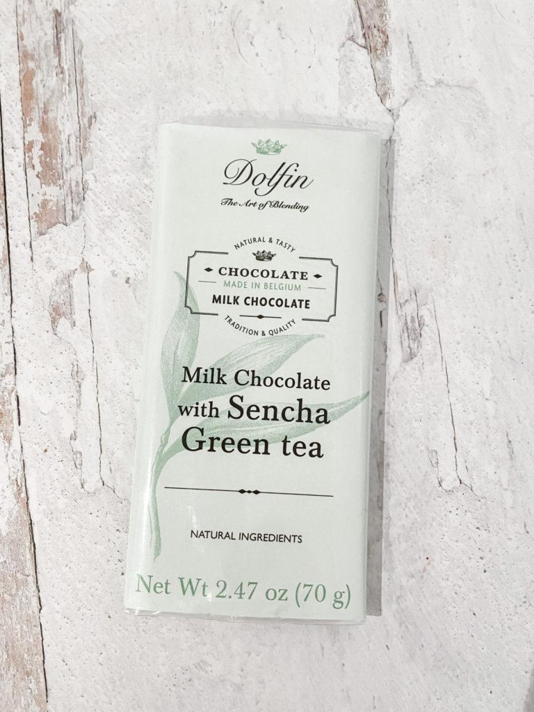 dolfin sencha green tea