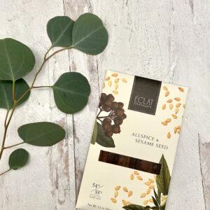 Eclat Chocolate Allspice & Sesame Seed