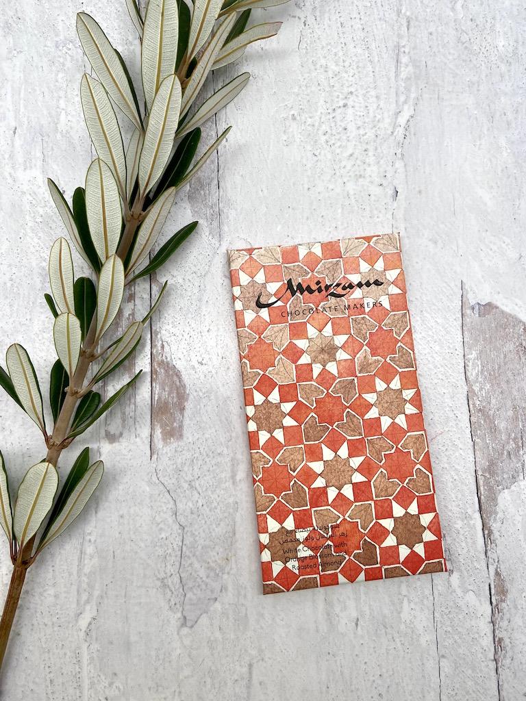 Mirzam_Orange Blossom & Roasted Almond_White Chocolate