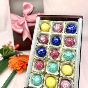 Happy Mother's Day VEGAN Truffle Gift Box-15pc