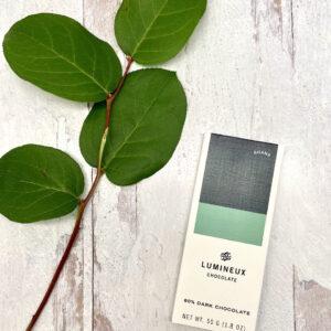 Lumineux 80% Ghana Dark Chocolate