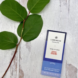 Lumineux 70% Uganda Dark Chocolate Tablet | Bridge City Coffee Collaboration