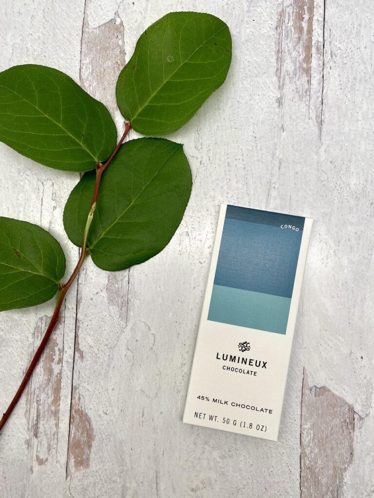 Lumineux 45% milk chocolate Congo